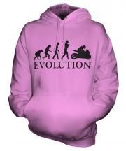 Motorcycle Racing Evolution Unisex Adult Hoodie