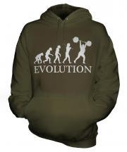 Weightlifter Evolution Unisex Adult Hoodie