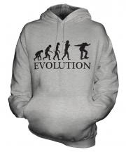 Skateboarder Evolution Unisex Adult Hoodie