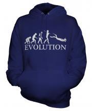 Scuba Diving Evolution Unisex Adult Hoodie