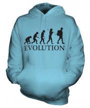 Backpacker Evolution Unisex Adult Hoodie