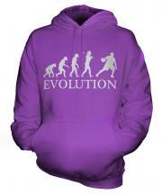 Basketball Player Evolution Unisex Adult Hoodie