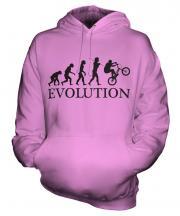 Bmx Evolution Unisex Adult Hoodie