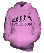 Tennis Player Evolution Unisex Adult Hoodie