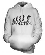 Cross Country Skiing Evolution Unisex Adult Hoodie