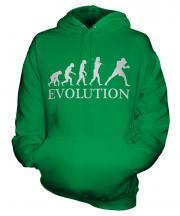 Boxing Evolution Unisex Adult Hoodie