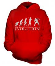 Shot Put Evolution Unisex Adult Hoodie