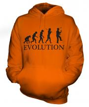 Circus Wire Walker Evolution Unisex Adult Hoodie
