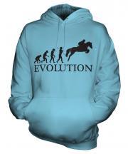 Showjumping Evolution Unisex Adult Hoodie