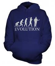 Guitarist Evolution Unisex Adult Hoodie