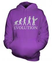 Construction Site Manager Evolution Unisex Adult Hoodie