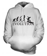 Surfboard Evolution Unisex Adult Hoodie