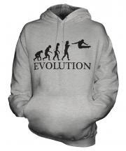 Gymnastics Evolution Unisex Adult Hoodie