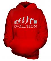 Snooker Player Evolution Unisex Adult Hoodie