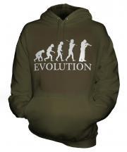 Cornet Player Evolution Unisex Adult Hoodie