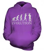 Jazz Guitarist Evolution Unisex Adult Hoodie