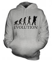 Violinist Evolution Unisex Adult Hoodie