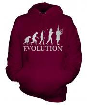 Bagpipes Player Evolution Unisex Adult Hoodie