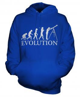 Astronomy Evolution Unisex Adult Hoodie