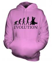 Ballroom Dancing Evolution Unisex Adult Hoodie