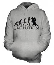 Tango Dancing Evolution Unisex Adult Hoodie