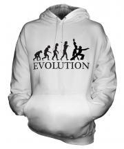 Rumba Dancing Evolution Unisex Adult Hoodie