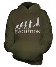 Bungee Jump Evolution Unisex Adult Hoodie