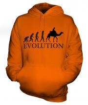 Camel Riding Evolution Unisex Adult Hoodie