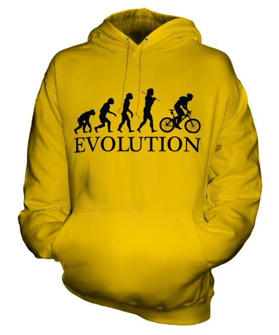 Mountain Bike Evolution Unisex Adult Hoodie
