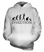 Dog Training Evolution Unisex Adult Hoodie