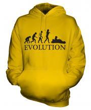 Go Kart Racing Evolution Unisex Adult Hoodie