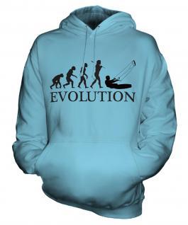 Kitesurfing Evolution Unisex Adult Hoodie