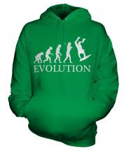 Bodyboarding Evolution Unisex Adult Hoodie