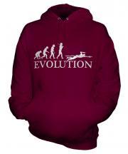 Swimmer Evolution Unisex Adult Hoodie