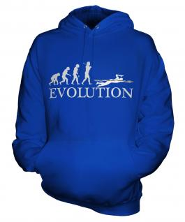 Swimmer Evolution Unisex Adult Hoodie
