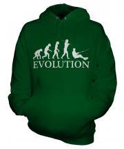 Water Skiing Evolution Unisex Adult Hoodie