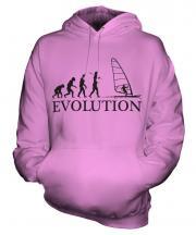 Windsurfing Evolution Unisex Adult Hoodie
