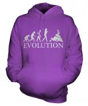 Wrestling Evolution Unisex Adult Hoodie