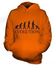 Dad With Pushchair Evolution Unisex Adult Hoodie
