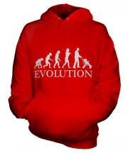Dad With Pushchair Evolution Unisex Adult Hoodie