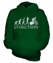 Cycle Racing Evolution Unisex Adult Hoodie