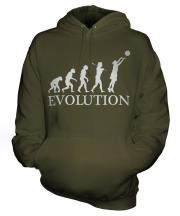 Netball Evolution Unisex Adult Hoodie