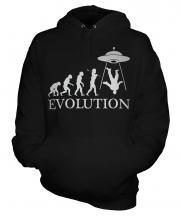Ufo Invasion Evolution Unisex Adult Hoodie