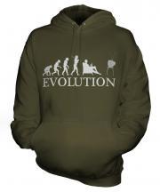 Television Evolution Unisex Adult Hoodie