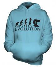 Television Cameraman Evolution Unisex Adult Hoodie