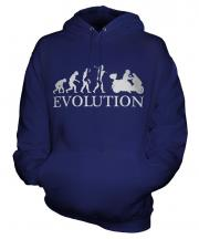 Scooter Evolution Unisex Adult Hoodie