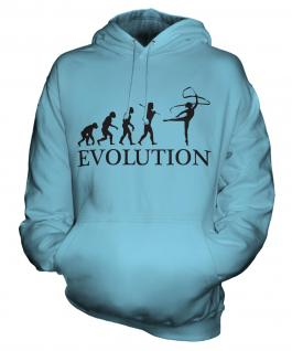 Rhythmic Gymnastics Ribbon Evolution Unisex Adult Hoodie
