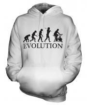 Exercise Bike Evolution Unisex Adult Hoodie