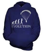 Paraglider Evolution Unisex Adult Hoodie
