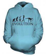 Rhythmic Gymnastics Hoop Evolution Unisex Adult Hoodie